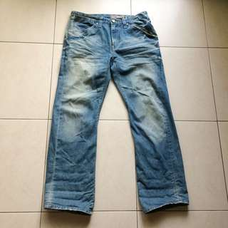 Levi's engineered jeans w30 3D褲