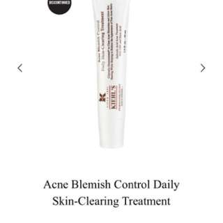 Kiehls daily skin clearing treatment