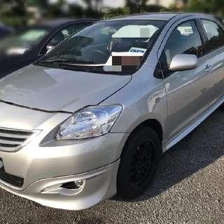 Toyota Vios 1.5 Auto Jspec Tahun 2009