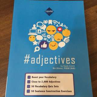 English Vocabulary and Adjectives practice