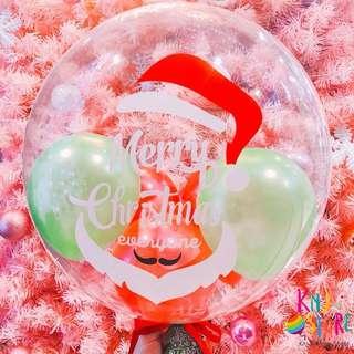 🚚 聖誕快樂空飄氣球
