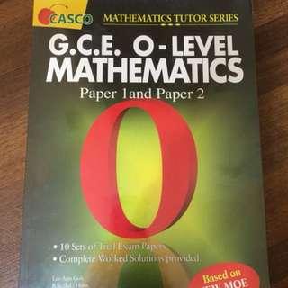 O level Mathematics trial exam papers