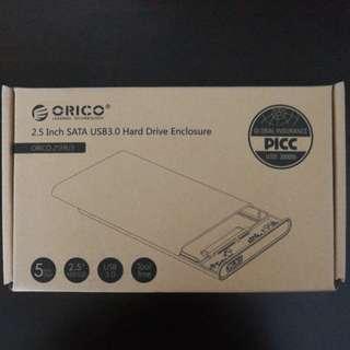 2.5 inch HDD harddisk enclosure box usb 3.0