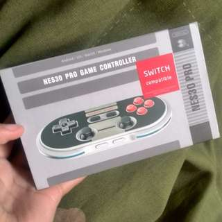 8Bitdo NES30 Pro Game Controller (switch compatible)