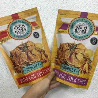 Salo Bites Salted Egg Chips