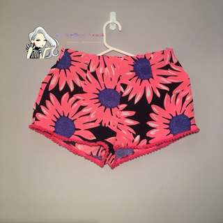 Flowery Short Bottom