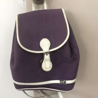 Violet bag from Mallows