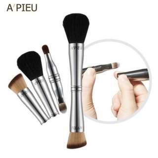 🇰🇷韓國 A'pieu 四合一專業彩妝刷(一支) 方便隨身攜帶 一支搞定