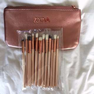 Zoeva Replica 12 Brushes and Bag Set