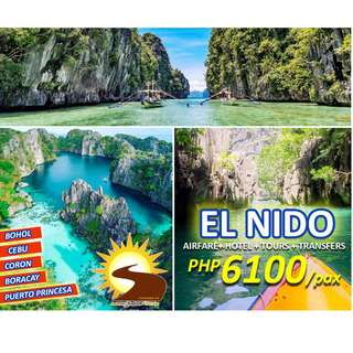 PROMO EL NIDO PALAWAN ALL IN PACKAGE