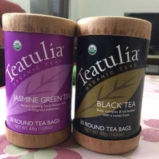 國外帶回有機茶包(紅茶/綠茶)