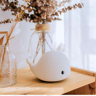 USB Rechargeable Little Whale Lamp Wth Touch Control