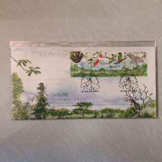 FDC First Day Cover - Singapore 2006 - Nature Treetop Walk Stamp