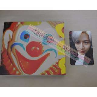 [UNSEAL CD][READY STOCK]SHINEE KOREA  ODD ALBUM WITH TAEMIN PHOTO CARD(NO POSTER) OFFICIAL ORIGINAL FROM KOREA (PRICE NOT INCLUDE POSTAGE)PLEASE READ DETAILS FOR MORE INFO
