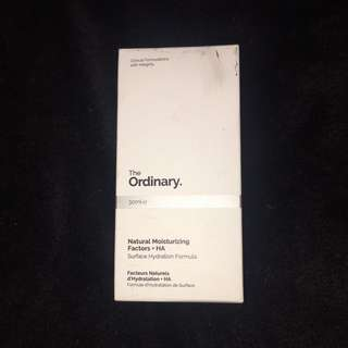 Brand new the ordinary moisturiser