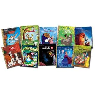 Little Golden Books Disney Titles