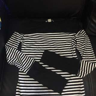 H&M stripes longsleeves