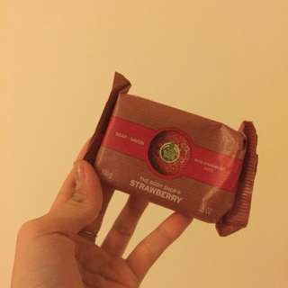 Brand new Body shop strawberry soap