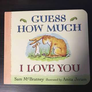Guess How Much I Love You Baby Board Book