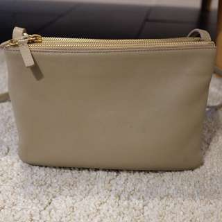 Authentic Celine Trio Beige