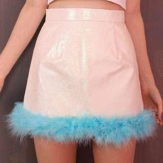 Glitter for dinner skirt