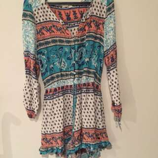 Roxy boho play suit