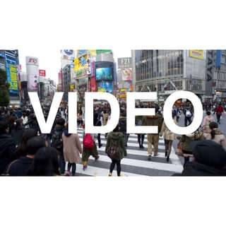 Video Editing, Videography & Video Creation