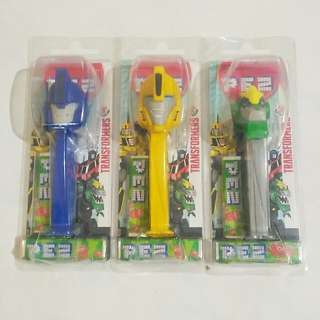 Transformers Sealed PEZ