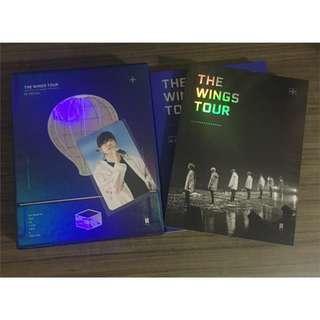 [LOOSE] BTS Wings Tour DVD