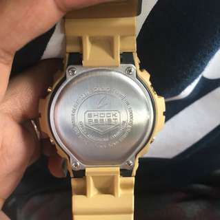 Authentic Gshock 6900GD Gold (not OEM)