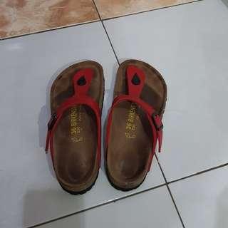 Sandal wanita birkenstock gizeh