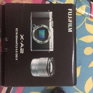 Fujifilm X-A2 black