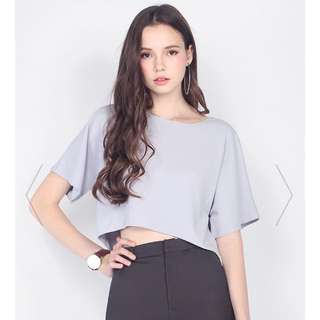 Looking for Fayth Rainer Top in Lavender Grey, Mauve, White