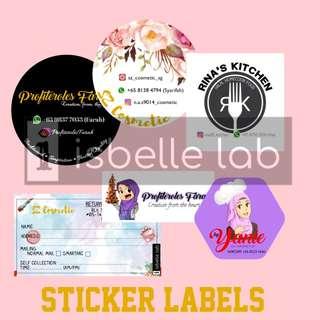 Sticker Labels / Mailing Labels