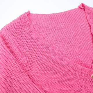 🚚 粉紅針織外套