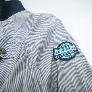 🚚 esprit藍條紋外套