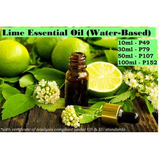 Lime Essential Oil (Water-based) for Air Humidifier / Diffuser & Others