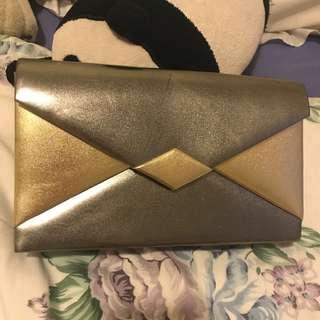 Silver/Gold Metallic bag