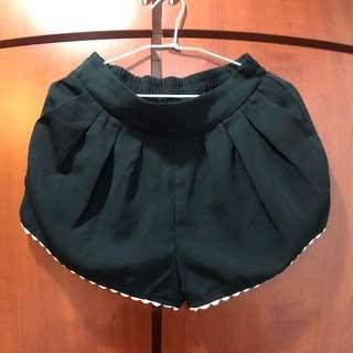 🚚 NET 黑色舒適短褲