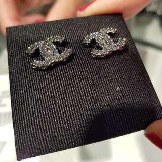 Chanel Ruthenium Earring
