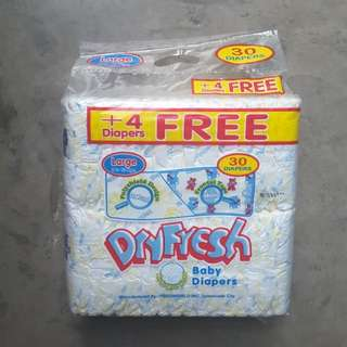 Dryfress Cotton Diaper