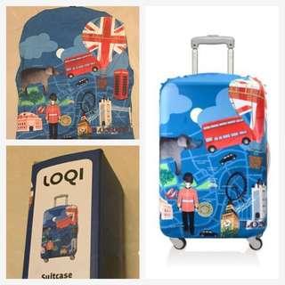 (全新)LOQI 行李箱套
