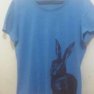 Kaus biru esprit diskon!!