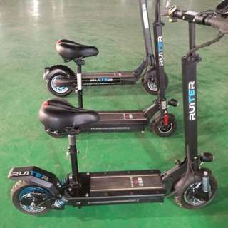 E scooter Ruiter 48v 500w 21ah Ultron .