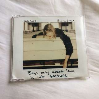 Official Taylor Swift Blank Space CD Single (Import from US)