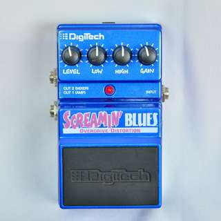 Digitech Screamin' Blues Overdrive/Distortion 破音 效果器*現金收購 樂器買賣 二手樂器吉他 鼓 貝斯 電子琴 音箱