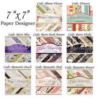 Paper Desginer 7 x 7