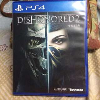 Dishonored 2 (PS4 Game Console)
