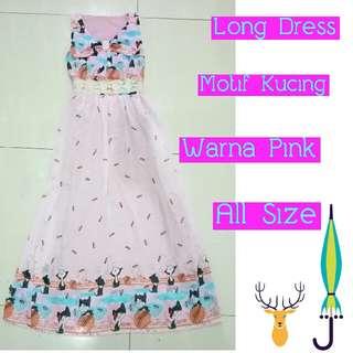 Long Dress Pink