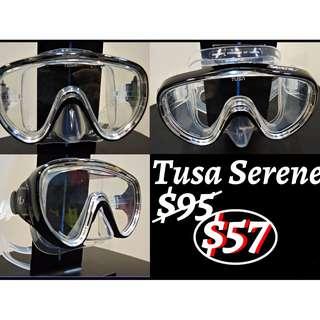 Tusa Serene Diving Mask